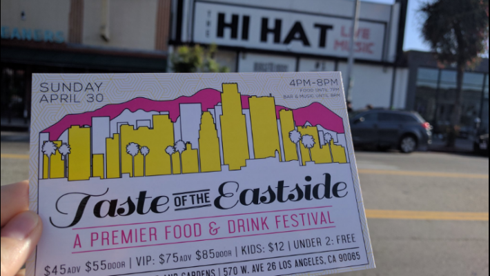 Taste of the Eastside Los Angeles