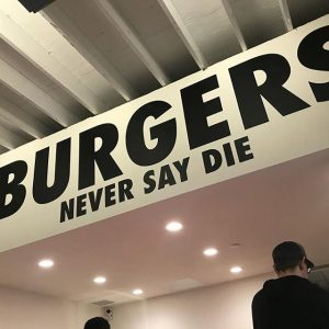 Never Say Die Is Now In Silver Lake