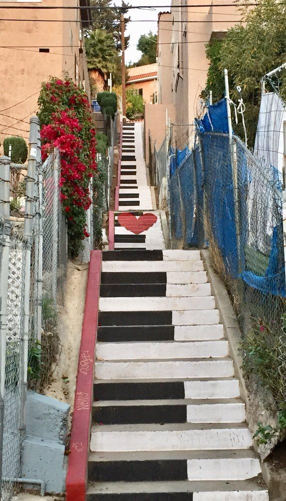 secret stairs Silver Lake