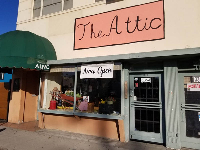 The Attic antique store in Atwater Village