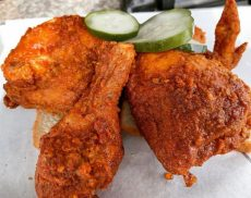 fried chicken in silver lake