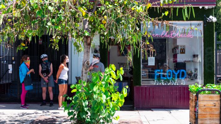 Coffee Shop In Silverlake