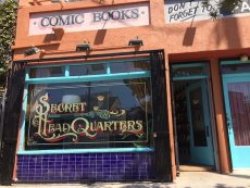 comic book store in silver lake