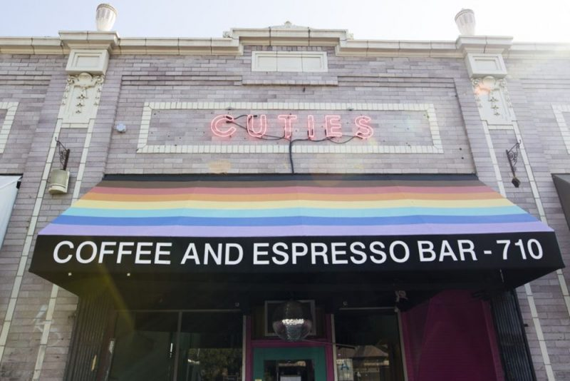 lgbtq coffee shop